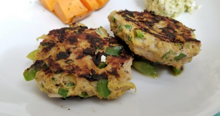 Turkey two ways – Keema patties