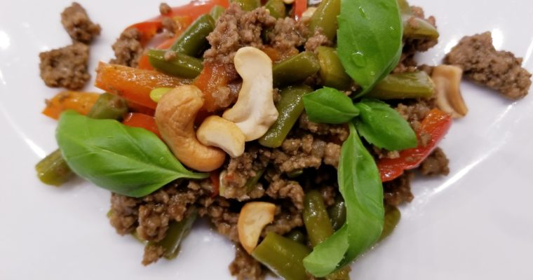 Thai Ground Beef