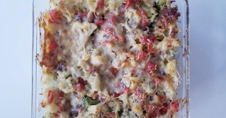 Cauliflower Brie casserole